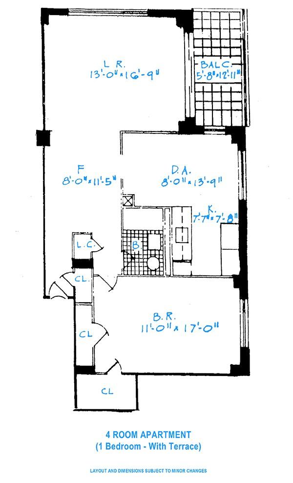 One Bedroom Rochdale Village